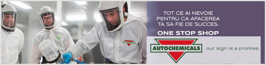 AUTOCHEMICALS vopsea auto Otopeni Logo