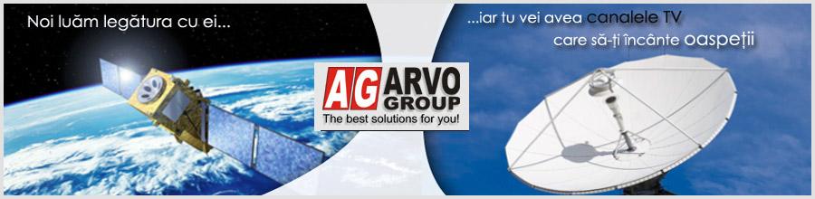 ARVO TELECOM Logo