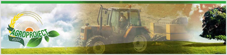 AGROPROIECT Bucuresti - Distributie utilaje si echipamente agricole Logo