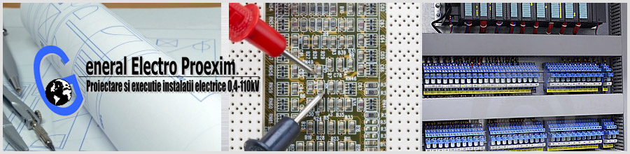 General Electro Proexim Bucuresti - Executie, reparatii instalatii electrice Logo