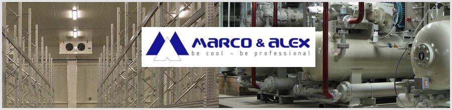 Marco & Alex Bucuresti - Service vitrine frigorifice si camere frigorifice Logo