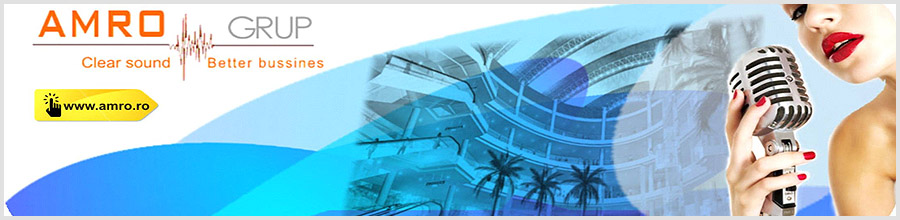 AMRO ELECTRIC Grup - Echipamente audio, video si lumini profesionale Logo