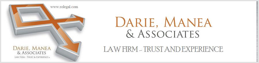 Darie, Manea si Asociatii - Societate de Avocatura Bucuresti Logo
