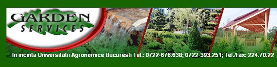 Garden Services, Bucuresti - Amenajari gradini, irigatii, plante, gazon Logo