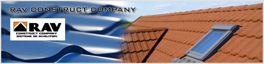 Rav Construct Company, Bucuresti - Tigla metalica si ferestre de mansarda Logo