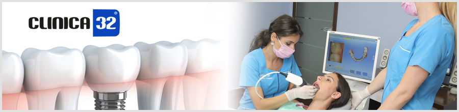 Clinica 32-clinica stomatologica-Bucuresti Logo