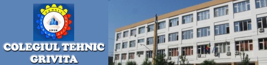 COLEGIUL TEHNIC GRIVITA Logo