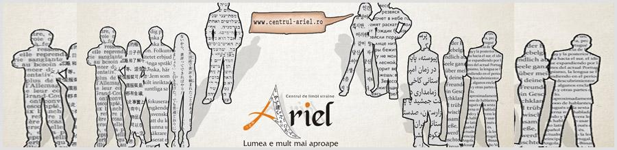 CENTRUL DE LIMBI STRAINE ARIEL Logo
