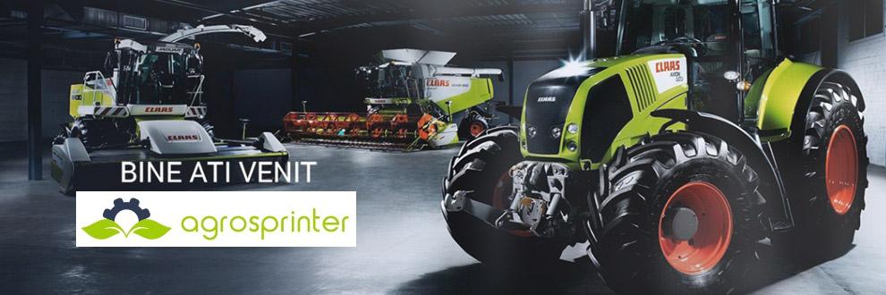 Agrosprinter Bihor - Utilaje agricole si utilaje pentru constructii Logo