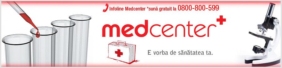 CENTRUL MEDICAL MEDCENTER Logo
