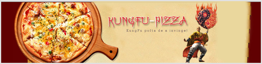 Kungfu Pizza - Bucuresti Logo