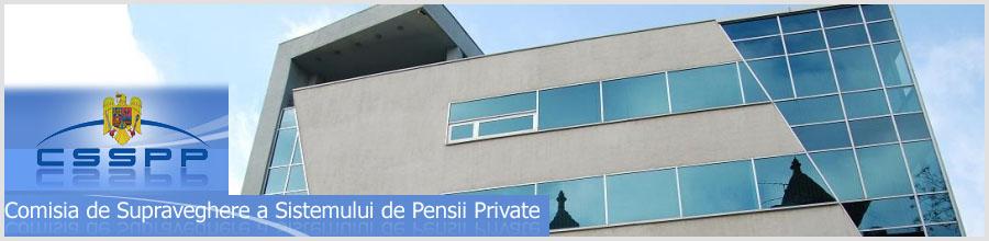 COMISIA DE SUPRAVEGHERE A SISTEMULUI DE PENSII PRIVATE Logo