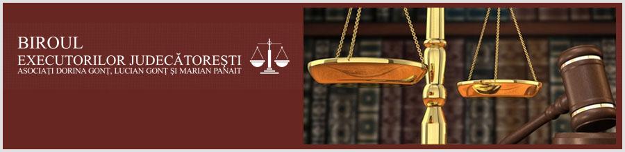Biroul Executorilor Judecatoresti Asociati Dorina Gont, Lucian Gont si Marian Panait Logo