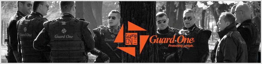 Guard One - Agentie Paza si Protectie Bucuresti Logo