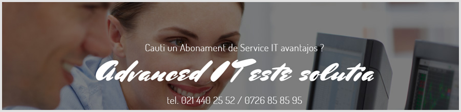 Advanced IT - Abonamente mentenatta IT, reparatii PC Bucuresti Logo