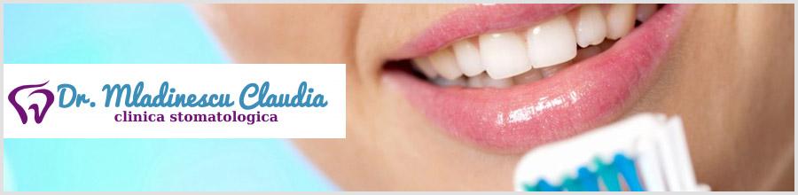 Dr. Mladinescu Claudia-cabinet stomatologic-Bucuresti Logo