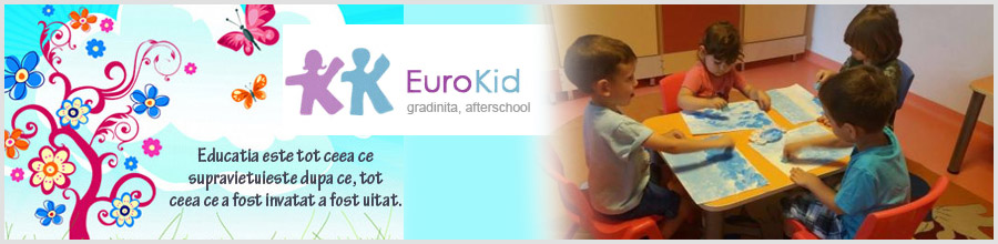 EuroKid 1, Gradinita & After School - Bucuresti Logo