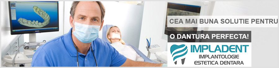 Clinica Dentara IMPLADENT sector 4 Bucuresti Logo