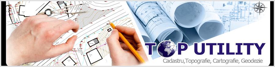 TOP UTILITY Cadastru - Topografie - Geodezie Brasov Logo