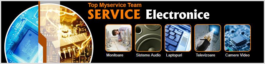 Top Myservice Team - Reparatii Electronice Monitoare TV Bucuresti Logo