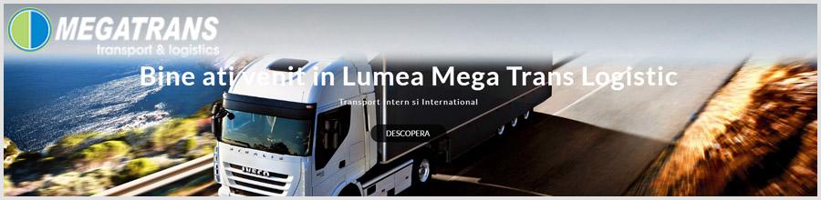 Mega Trans Logistic - Transport intern si international marfuri Bucuresti Logo