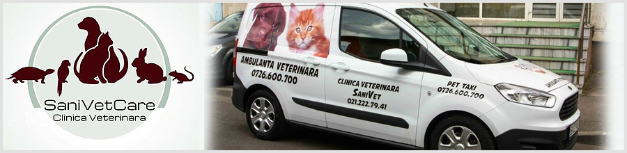 Clinica Veterinara SANIVET Bucuresti Logo
