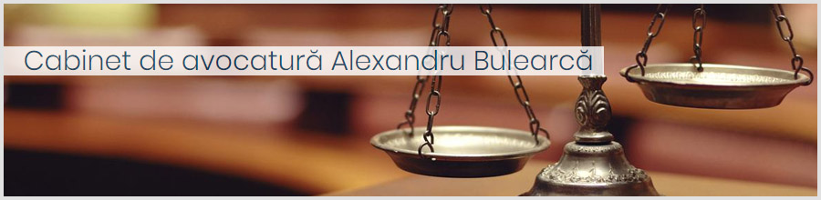 Cabinet de avocat Alexandru Bulearca Logo