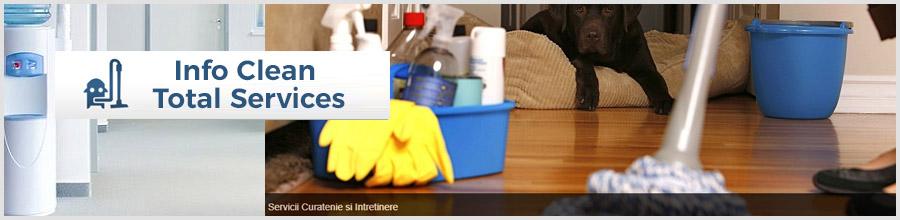 Info Clean Total Services - Servicii curatenie Bucuresti Logo