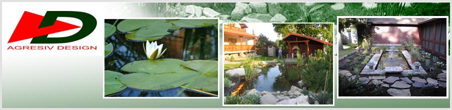 AGRESIV DESIGN - Arhitectura peisagera,hidroizolatii, design interior Logo