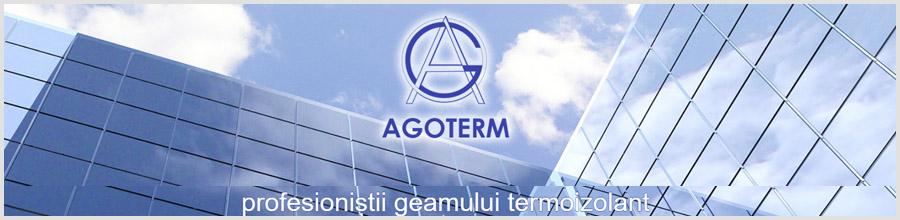 Agoterm - Producator de ferestre si usi cu geam termoizolant, Domnesti / Ilfov Logo