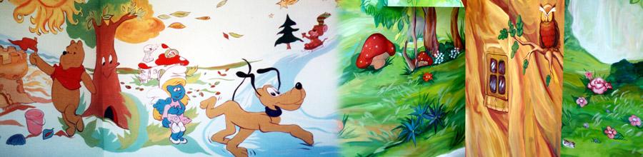 Camere de copii & Interior design, Bucuresti - Deco gradinite si camere de copii Logo