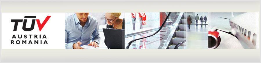 TUV Austria Romania - Certificare Sisteme de Management, Certificare Personal Bucuresti Logo
