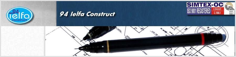 94 IELFA CONSTRUCT Logo