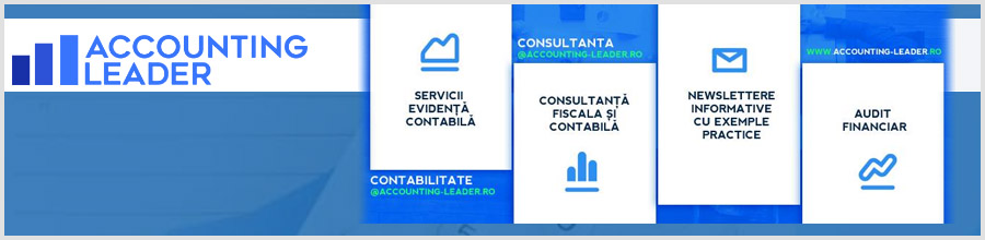 ACCOUNTING LEADER - Contabilitate, Consultanta fiscala, Audit Logo