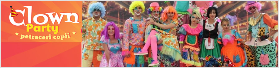 CLOWN PARTY organizare petreceri pentru copii Bucuresti Logo