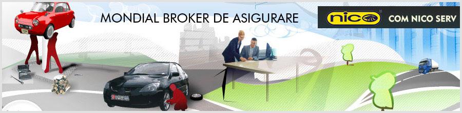 MONDIAL BROKER DE ASIGURARE Logo