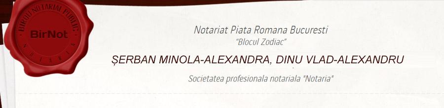 Birou Notarial NOTARIA - Minola Serban, Ana Maria Nechifor si Sorana Bruma Logo