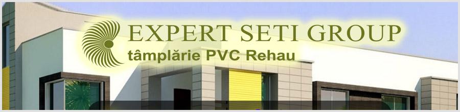 Expert Seti Group Bucuresti - Tamplarie PVC Rehau Logo