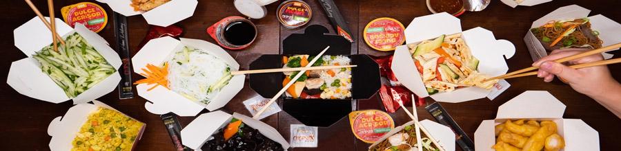 Chopstix, Catering mancare asiatica - Bucuresti Logo