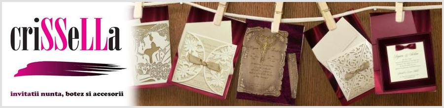 Crissella - Invitatii nunta, botez si accesorii Bucuresti Logo