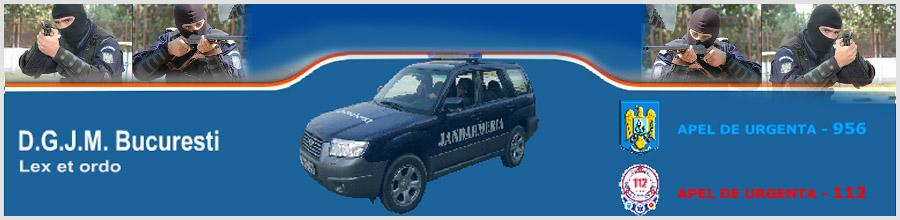 DIRECTIA GENERALA DE JANDARMI A MUNICIPIULUI BUCURESTI Logo
