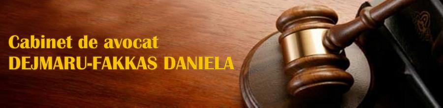 CABINET AVOCATURA DEJMARU-FAKKAS DANIELA Logo