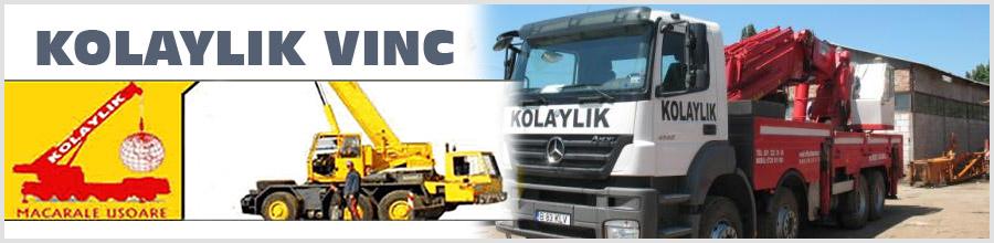 Kolaylik Vinc - Inchiriere de macarale mobile, Bucuresti Logo