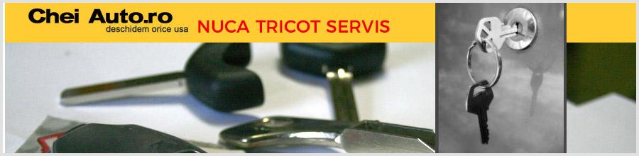 Nuca Tricot Servis Bucuresti Chei auto - copieri si deblocari usi Logo
