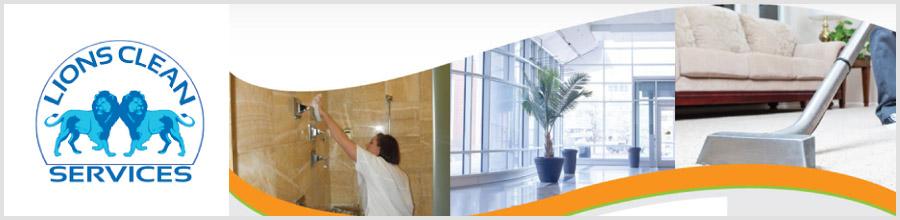 Lions Clean Services - servicii profesionale de curatenie si dezinsectie Bucuresti Logo