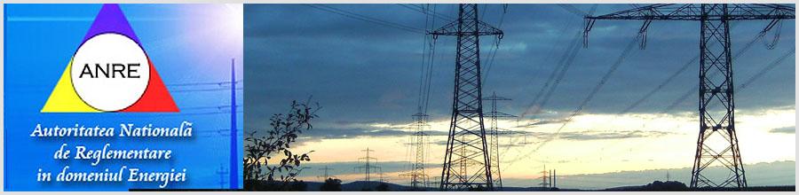 AUTORITATEA NATIONALA DE REGLEMENTARE IN DOMENIUL ENERGIEI (ANRE) Logo