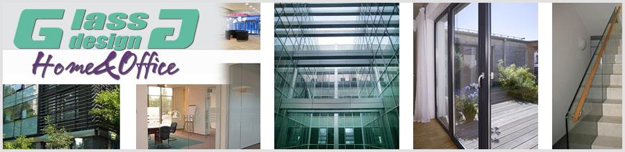 Glass Design Home & Office / Ilfov - Producatie si prelucrare sticla Logo