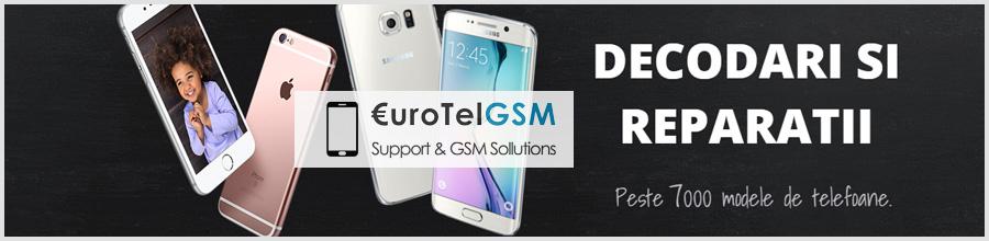 EUROTELGSM Reparatii telefoane mobile Bucuresti Logo
