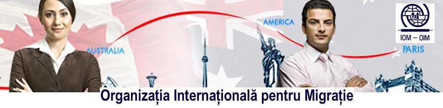 ORGANIZATIA INTERNATIONALA PENTRU MIGRATIE - O.I.M. Logo