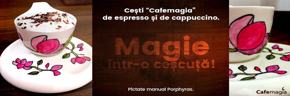 CAFEMAGIA specialisti in domeniul cafelei Bucuresti Logo